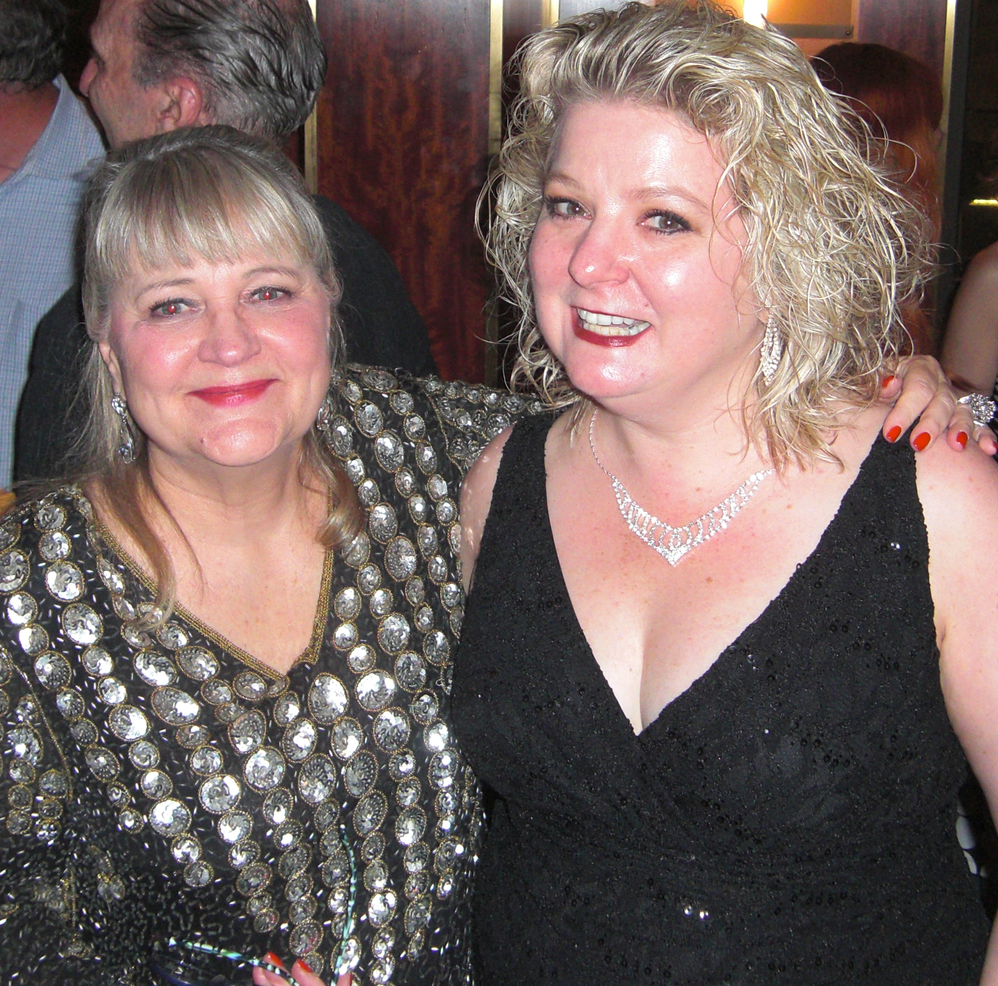 Tanya Moberly with Debbi at the meet and greet after the show
